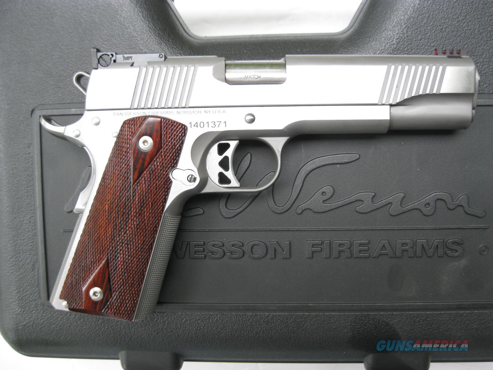 "Dan Wesson PM9 Pointman 9mm 5"" 1911 Stainless Fiber Optic 01909  Guns > Pistols > Dan Wesson Pistols/Revolvers > 1911 Style"