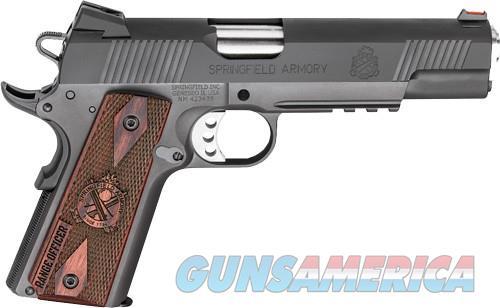 "Springfield Range Officer Operator .45 acp 1911 Rail 5"" Fiber Optic PI9131L *NEW*  Guns > Pistols > Springfield Armory Pistols > 1911 Type"