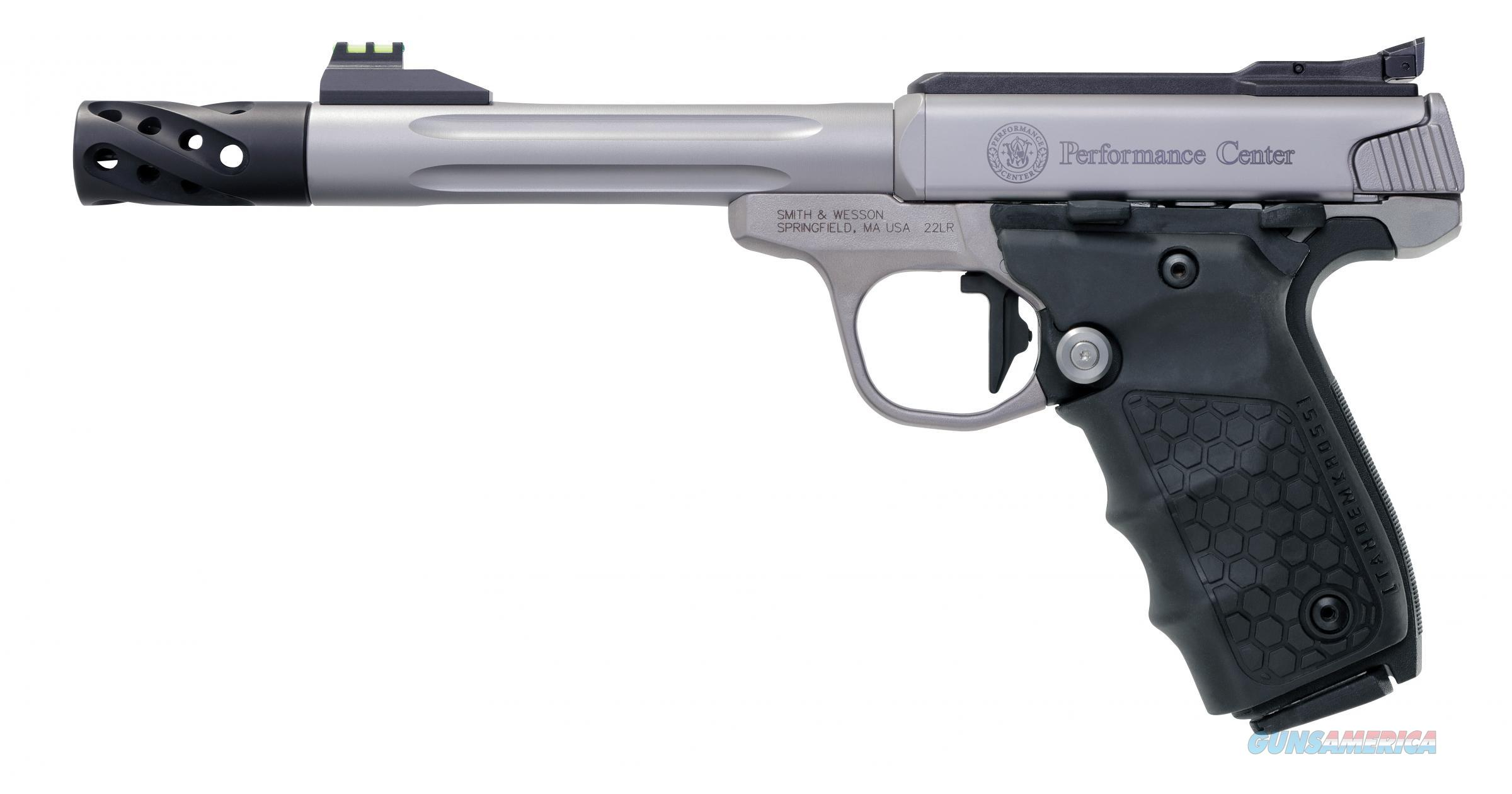 "Smith & Wesson SW22 Performance Center Victory .22 LR 6"" Target Barrel Fiber Optic 12078 *NEW*  Guns > Pistols > Smith & Wesson Pistols - Autos > .22 Autos"