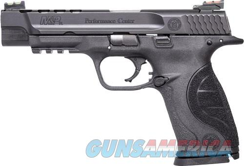 """Smith & Wesson M&P Performance Center 9mm Ported 5"""" Fiber Optic 17 Rd 10218 *NEW*  Guns > Pistols > Smith & Wesson Pistols - Autos > Polymer Frame"""
