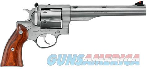"Ruger Redhawk .44 Magnum 7.5"" Stainless with 1"" Ruger Rings 05003 *NIB*  Guns > Pistols > Ruger Double Action Revolver > Redhawk Type"