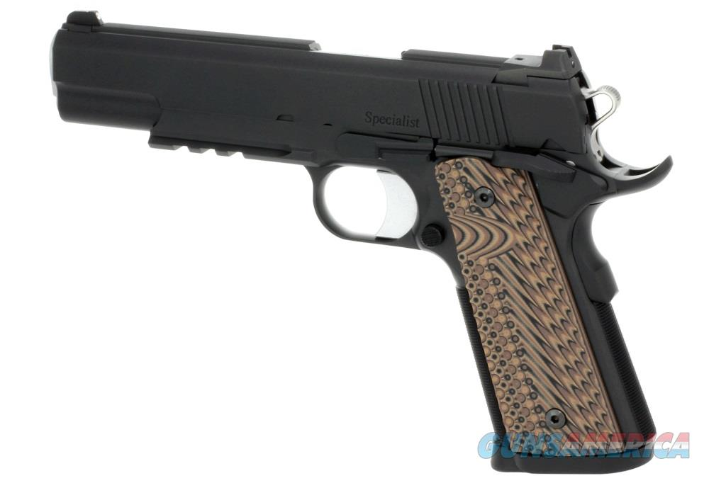 "CZ-USA Dan Wesson Specialist .45 acp Black Duty Finish Tactical Rail 5"" 1911 Night Sights 01992 *NEW*  Guns > Pistols > Dan Wesson Pistols/Revolvers > 1911 Style"