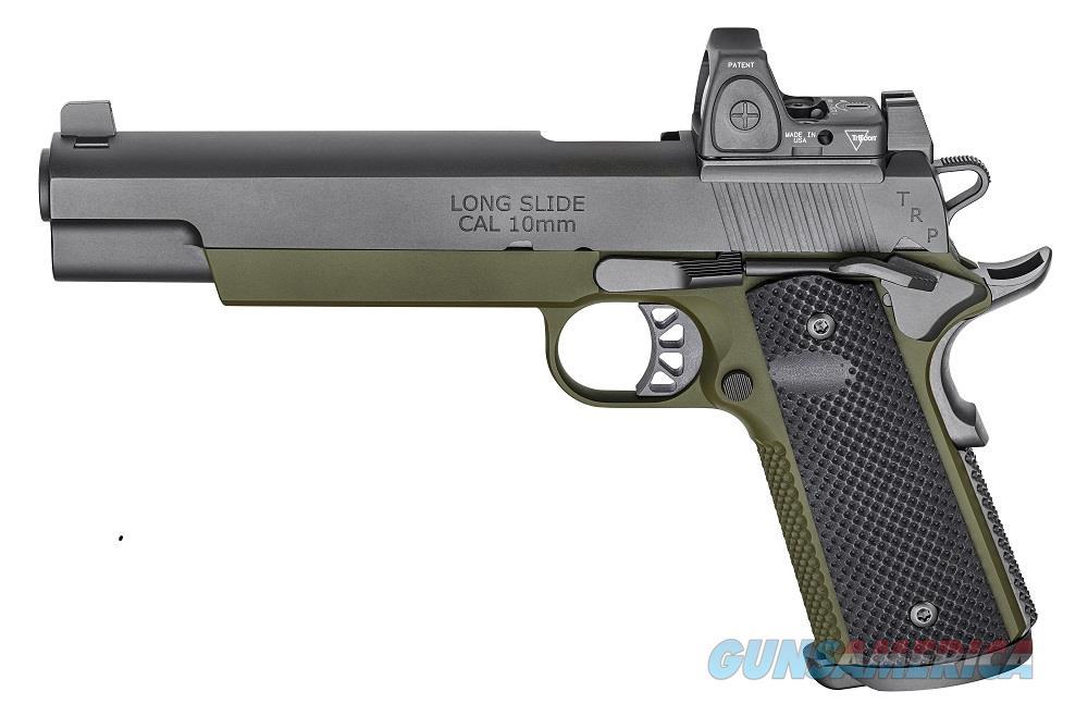 "Springfield TRP Operator RMR 10mm 6"" Longslide Trijicon RMR & Night Sights PC9610RMR18 *NEW*  Guns > Pistols > Springfield Armory Pistols > 1911 Type"