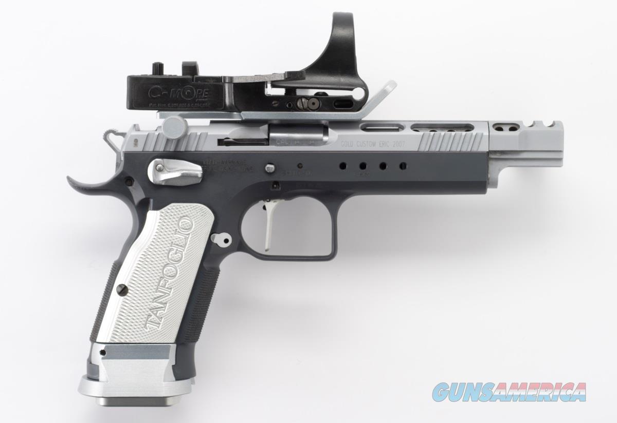 EAA Gold Custom Xtreme 9mm Tanfoglio Custom Shop C-More 610066 *NEW*  Guns > Pistols > EAA Pistols > Other