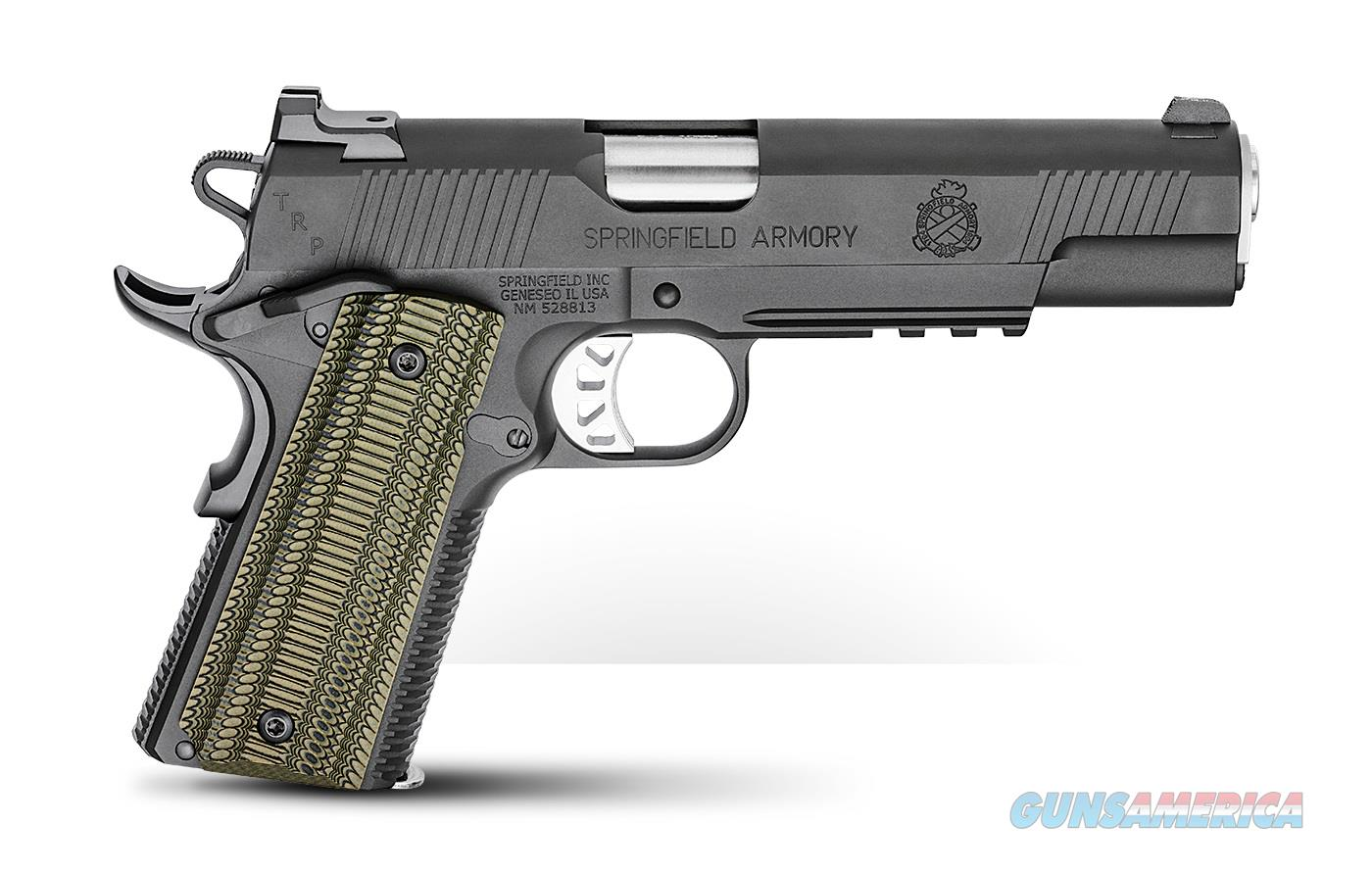 Springfield 1911 TRP Operator 10mm NS Rail PC9510L18 *NEW*  Guns > Pistols > Springfield Armory Pistols > 1911 Type