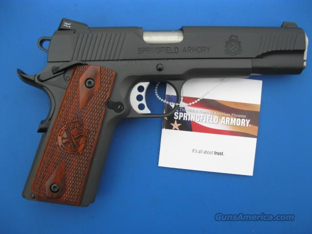 "Springfield 1911 Loaded .45 acp Parkerized 5"" *NEW* PX9109L - PLUS - 4 Extra Mags, Holster and Mag Pouch  Guns > Pistols > Springfield Armory Pistols > 1911 Type"