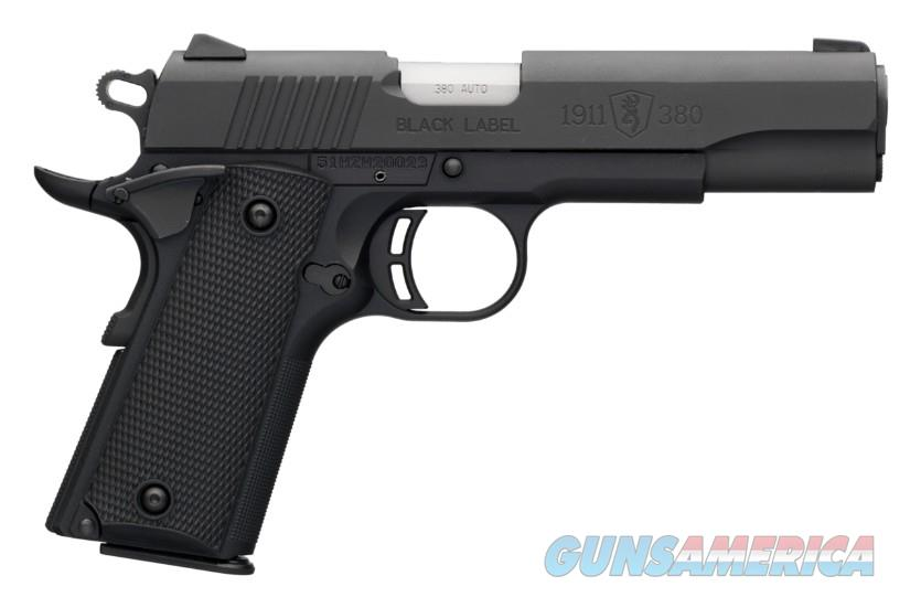 Browning 1911 - 380 Black Label .380 Auto LW Compact 1911 *NEW* 051904492  Guns > Pistols > Browning Pistols > Other Autos
