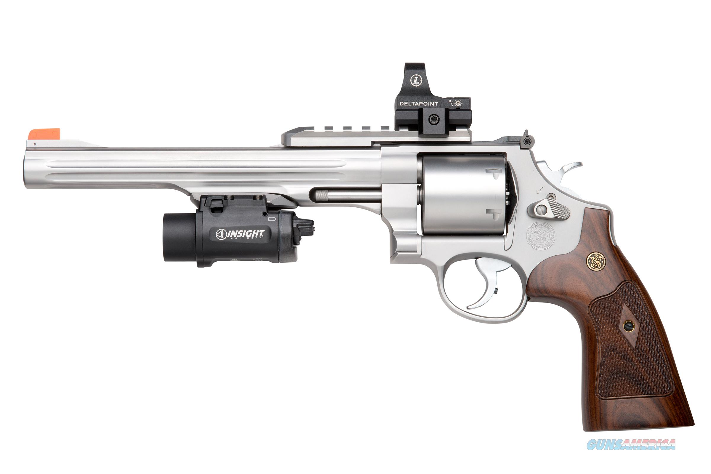 "Smith & Wesson 629 Performance Center .44 Mag 8 3/8"" Fluted Barrel, Picatinny Rails *NEW* SKU 170334  Guns > Pistols > Smith & Wesson Revolvers > Performance Center"