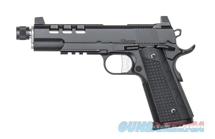 "Dan Wesson Discretion 9mm Threaded Barrel Tactical Rail Lightened Slide 5"" 1911 Night Sights 01886 *NIB*  Guns > Pistols > Dan Wesson Pistols/Revolvers > 1911 Style"