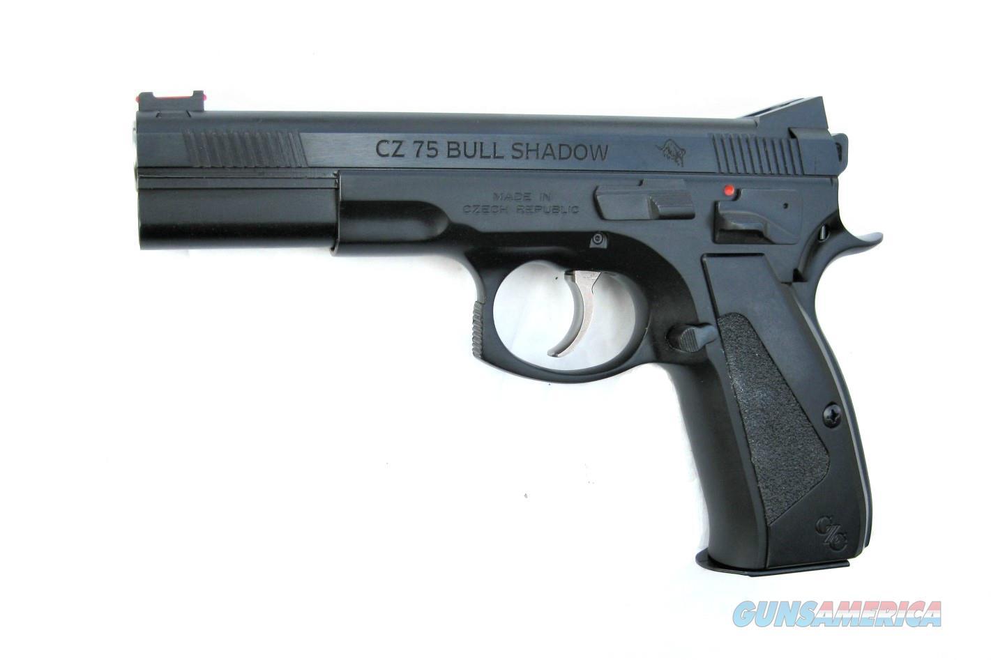 CZ 75 Bull Shadow Custom 9mm CZC Bull Barrel 91726  *NEW*  Guns > Pistols > CZ Pistols