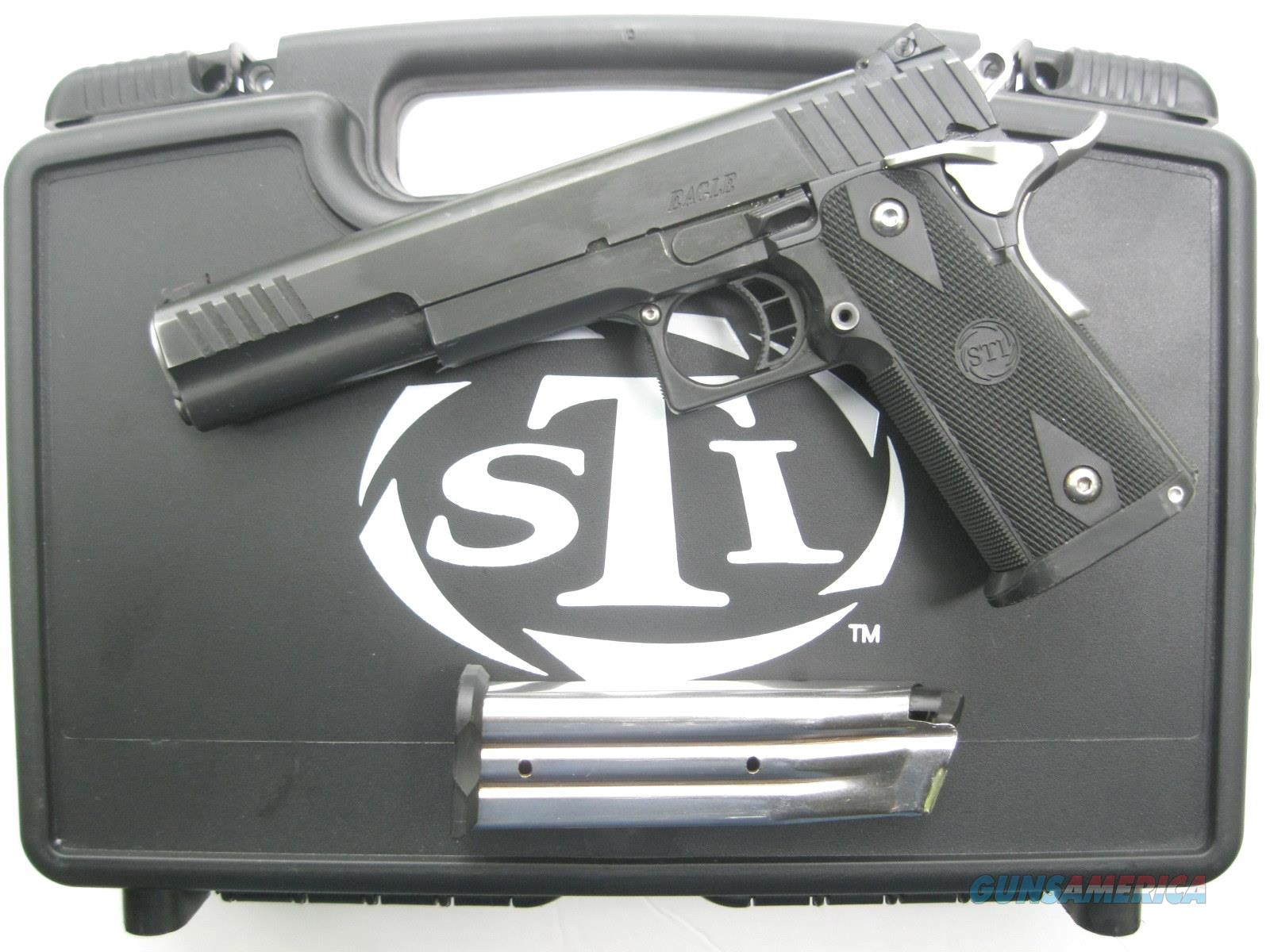 "STI Eagle 6.0 9mm Long Slide 2011 Hi-Cap 6"" Bushing Barrel DFO TAS   Guns > Pistols > STI Pistols"