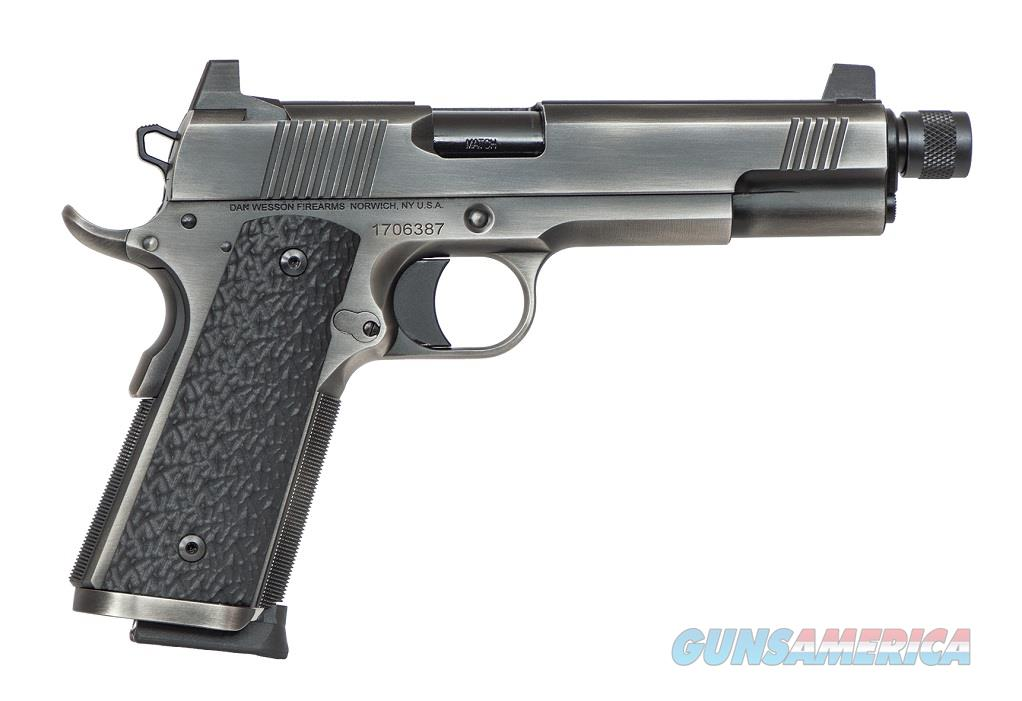 Dan Wesson Wraith 9mm Distressed Duty Finish Suppressor Ready Threaded Barrel Night Sights 01849 *NEW*  Guns > Pistols > Dan Wesson Pistols/Revolvers > 1911 Style