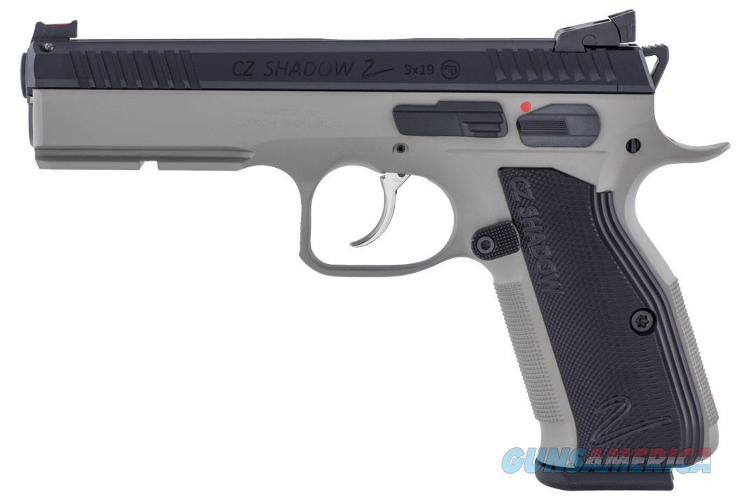 CZ Shadow 2 Urban Grey 2-Tone 9mm FO Hajo 3 -1 7 rd Mags CZ-USA 91255 *NEW*  Guns > Pistols > CZ Pistols