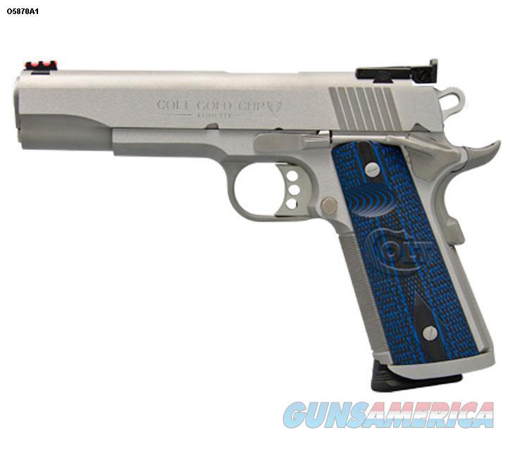 Colt Gold Cup Trophy 9mm Magwell Fiber Optic Sight O5872XE *NEW*  Guns > Pistols > Colt Automatic Pistols (1911 & Var)