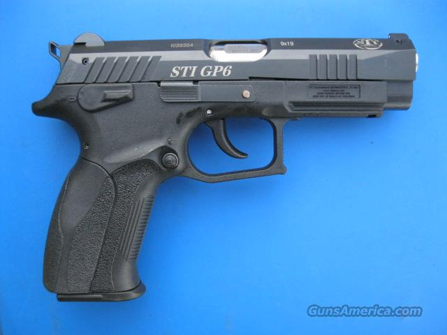 STI GP6 9mm *NEW* No Fee for CC  Guns > Pistols > STI Pistols