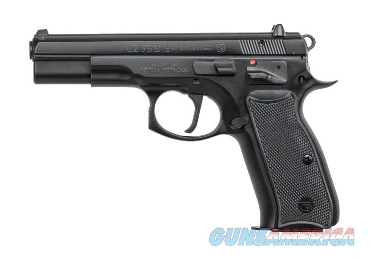 CZ-USA 75 B SA 9mm 16 rd 91150 *NEW  Guns > Pistols > CZ Pistols