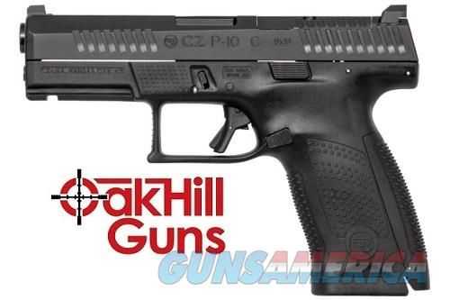 CZ P-10 C 9mm Compact Optic Ready 15 rd Mags Night Sight 95130 *NEW*  Guns > Pistols > CZ Pistols