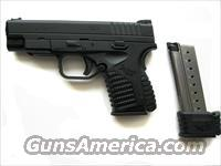 "Springfield XDS 4.0 9mm XD-S 9 4"" *NEW*  Guns > Pistols > Springfield Armory Pistols > XD-S"