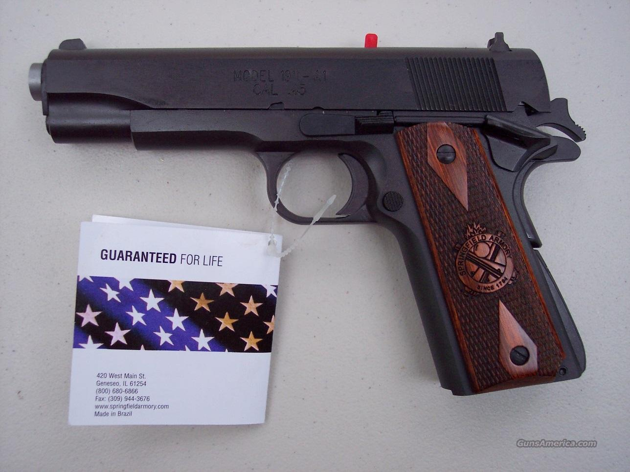 "Springfield Mil Spec 45 acp 1911 Parkerized Government 5"" *NEW* PB9108LP  Guns > Pistols > Springfield Armory Pistols > 1911 Type"