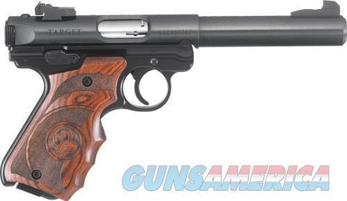 "Ruger Mark IV Target .22 LR 5.5"" Bull Laminated Target Grips 40159 *NEW*  Guns > Pistols > Ruger Semi-Auto Pistols > Mark I/II/III/IV Family"