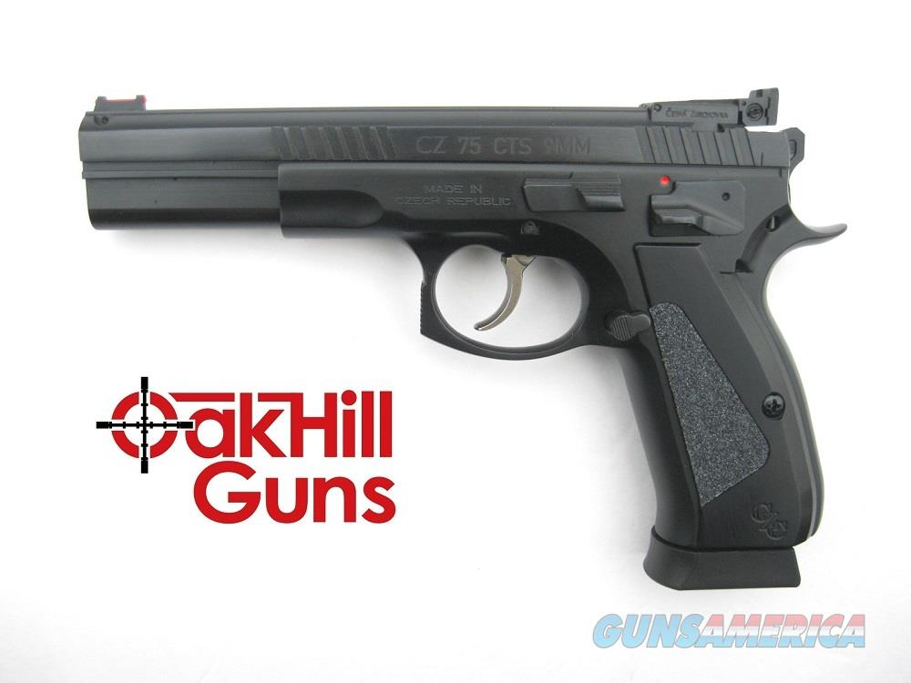 CZ 75 Shadow Custom CTS LS-P 9mm Long Slide DA/SA Tactical Sport 91710 *NEW*  Guns > Pistols > CZ Pistols