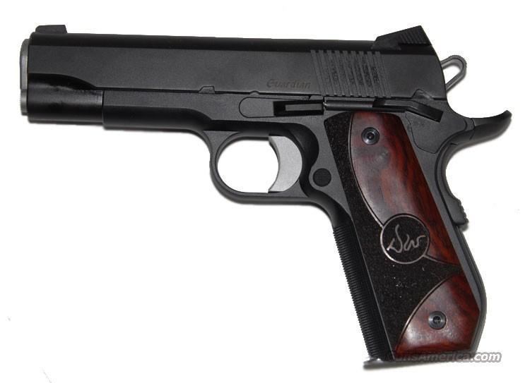 "CZ-USA Dan Wesson Guardian 9mm LW Bobtail Commander 1911 4.25"" Duty Finish 01985  Guns > Pistols > Dan Wesson Pistols/Revolvers > 1911 Style"