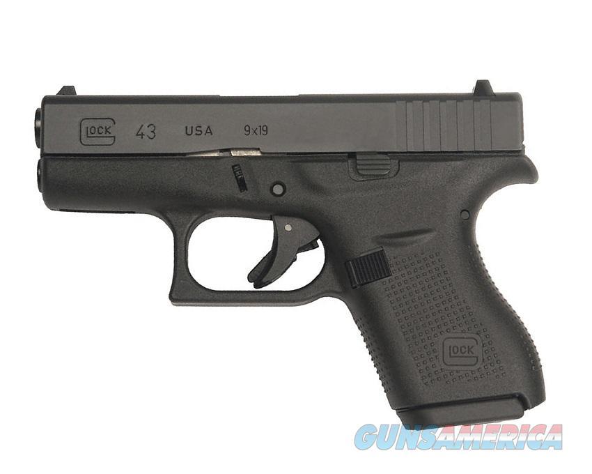 Glock 43 9mm Gen 4 Compact Single Stack *NIB* PI4350201  Guns > Pistols > Glock Pistols > 42