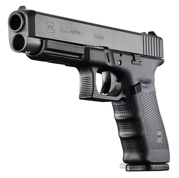 Glock 41 Gen 4 Practical Tactical .45 acp Long Slide 3 - 13 Round Mags *NEW*  Guns > Pistols > Glock Pistols > 41