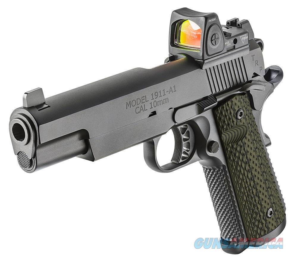 "Springfield TRP Operator RMR 10mm 1911 5"" G10 Night Sights PC9510RMR18 *NEW*  Guns > Pistols > Springfield Armory Pistols > 1911 Type"