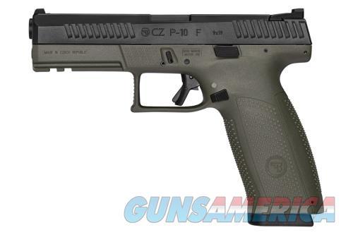 CZ P-10 F 9mm O.D. Green Full Size P10F Night Sights 19rd Mags 91545 *NEW* 2019  Guns > Pistols > CZ Pistols