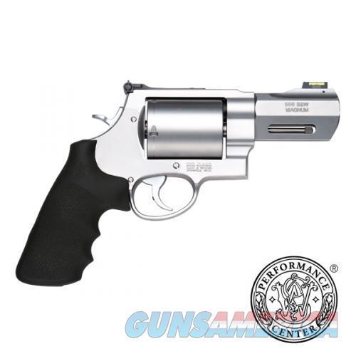"Smith & Wesson Performance Center .500 S&W Magnum 3.5"" HiViz Fiber Optic 11623 *NEW*  Guns > Pistols > Smith & Wesson Revolvers > Performance Center"