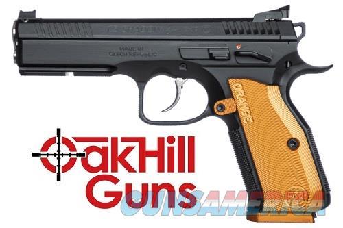 CZ Shadow 2 Orange Accu Bushing Custom Shop Short Reset 3-17rd Mags 91249 *NEW*  Guns > Pistols > CZ Pistols