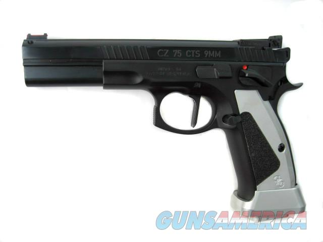 CZ Custom 75 Shadow CTS LS 9mm Long Slide Tactical Sport Pre B Extended Controls 91707 *NEW*  Guns > Pistols > CZ Pistols
