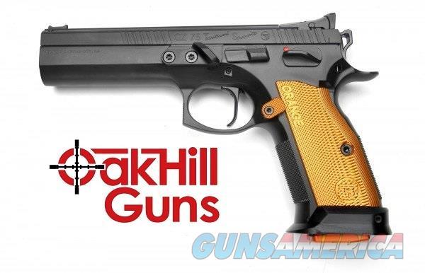 """CZ 75 Tactical Sport ORANGE .40 S&W 5.4"""" Competition *NIB* 91260  Guns > Pistols > CZ Pistols"""