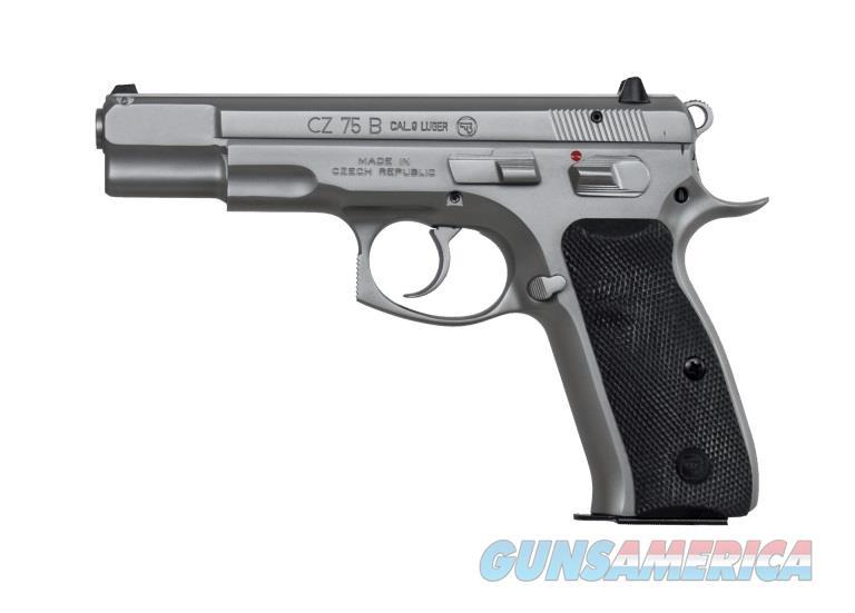 CZ 75B 9mm Matte Stainless 10 Rd Mags 01128 *NIB*  Guns > Pistols > CZ Pistols