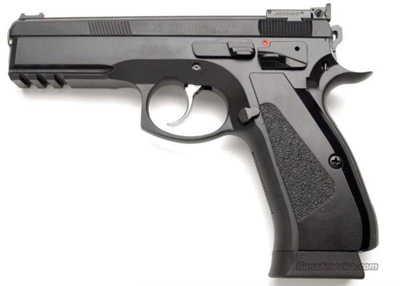 CZ SP-01 CUSTOM Shadow Target 9mm 3 - 18 Rd Mags FO *NIB*  Guns > Pistols > CZ Pistols