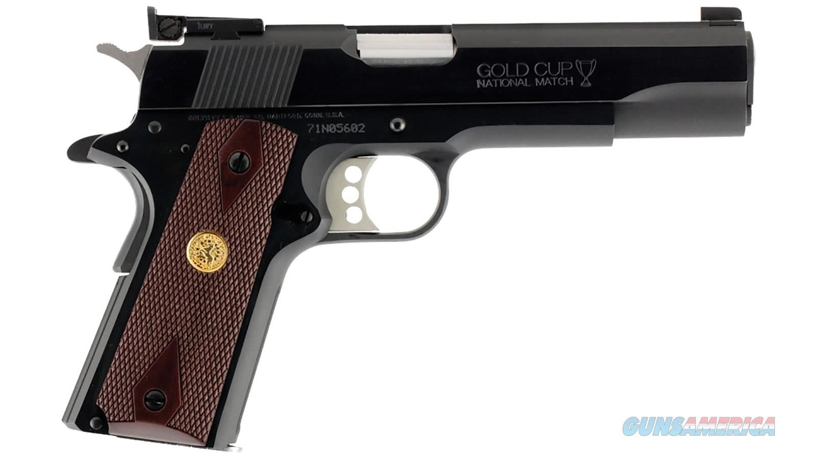 Colt Gold Cup National Match 1911 9mm 70 Series O5872A1 *NEW*  Guns > Pistols > Colt Automatic Pistols (1911 & Var)