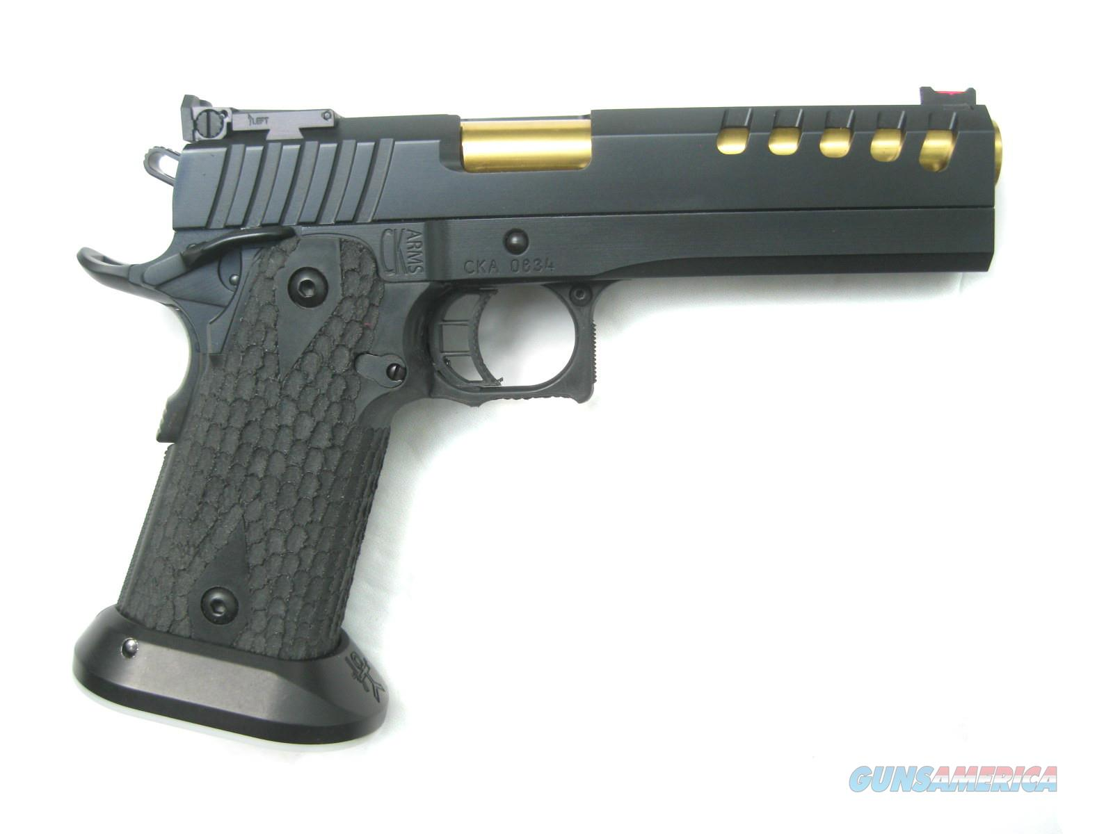 CK Arms Custom Thunder Series LIMITED 9mm Black PVD Tri-Top Lightened Slide FO *NEW*  Guns > Pistols > 1911 Pistol Copies (non-Colt)