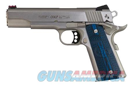 "Colt Competition Series 70 Government 9mm Stainless 5"" FO G10 O1072CCS *NEW*  Guns > Pistols > Colt Automatic Pistols (1911 & Var)"