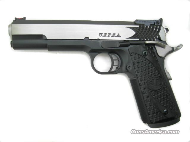 STI U.S.P.S.A. DFO Single Stack 1911 .40 S&W Tri-Top Slide *NEW*  Guns > Pistols > STI Pistols