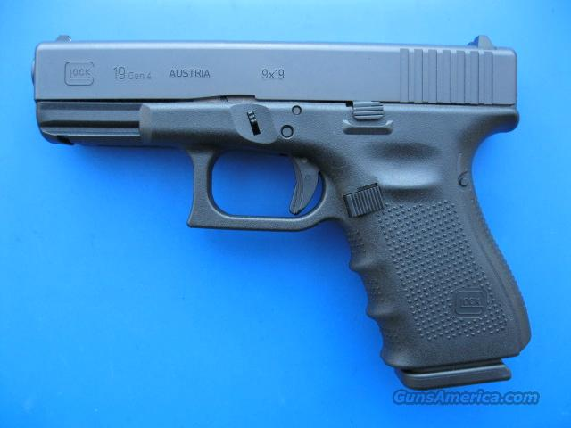 Glock 19 GEN 4 *NEW* 9mm  Guns > Pistols > Glock Pistols > 19