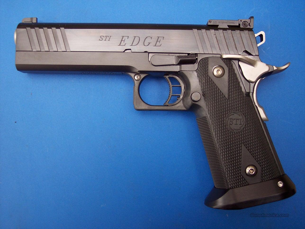 STI Edge 40 S&W *NEW* 2011  Guns > Pistols > STI Pistols