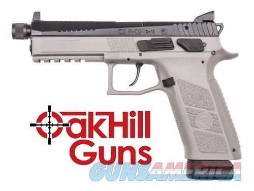 CZ P-09 Urban Grey Suppressor Ready Threaded Barrel Night Sights 2-21 Rd Mags 91269 *NIB*  Guns > Pistols > CZ Pistols