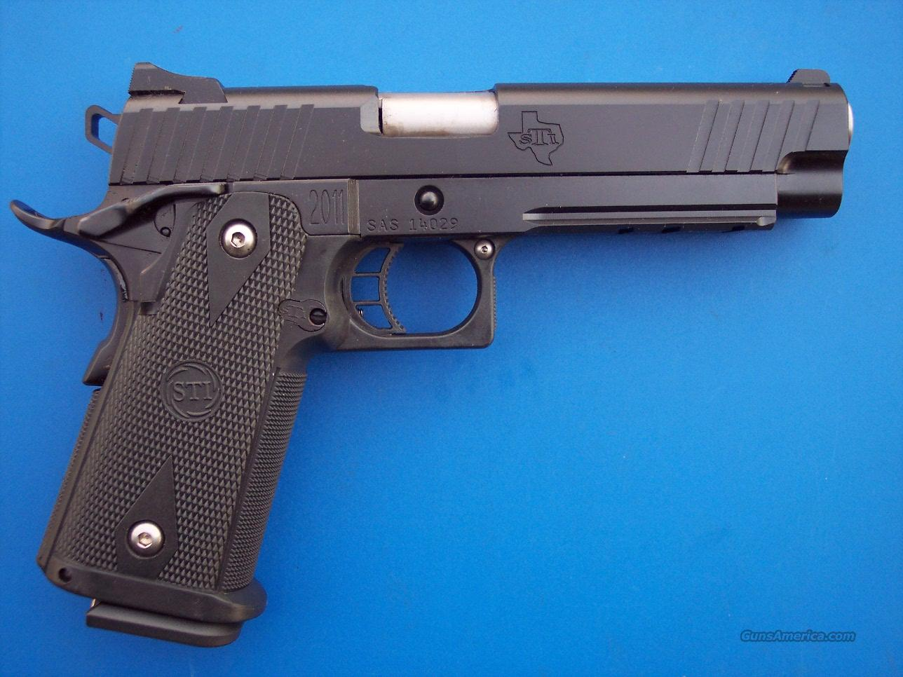 STI Tactical 5.0 45 acp Heinie *NEW*  Guns > Pistols > STI Pistols