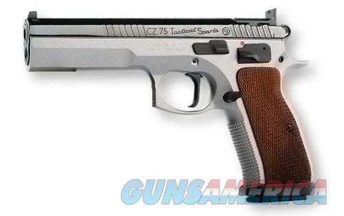 CZ 75 Tactical Sport 9mm Two-Tone *NEW* IPSC 91172  Guns > Pistols > CZ Pistols