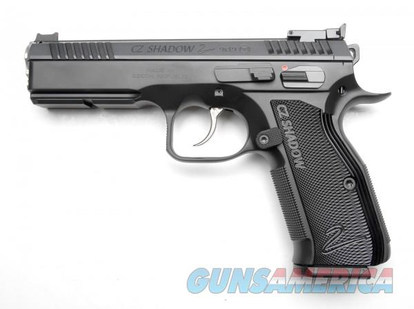 CZ Custom Shadow 2 ACCU Target 9mm 3-17 Rd Mags Adj FO 96214 *NEW*  Guns > Pistols > CZ Pistols
