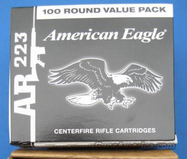 500 Rounds Federal AE .223 Rem 55 gr. FMJ Case AMMO  Non-Guns > Ammunition