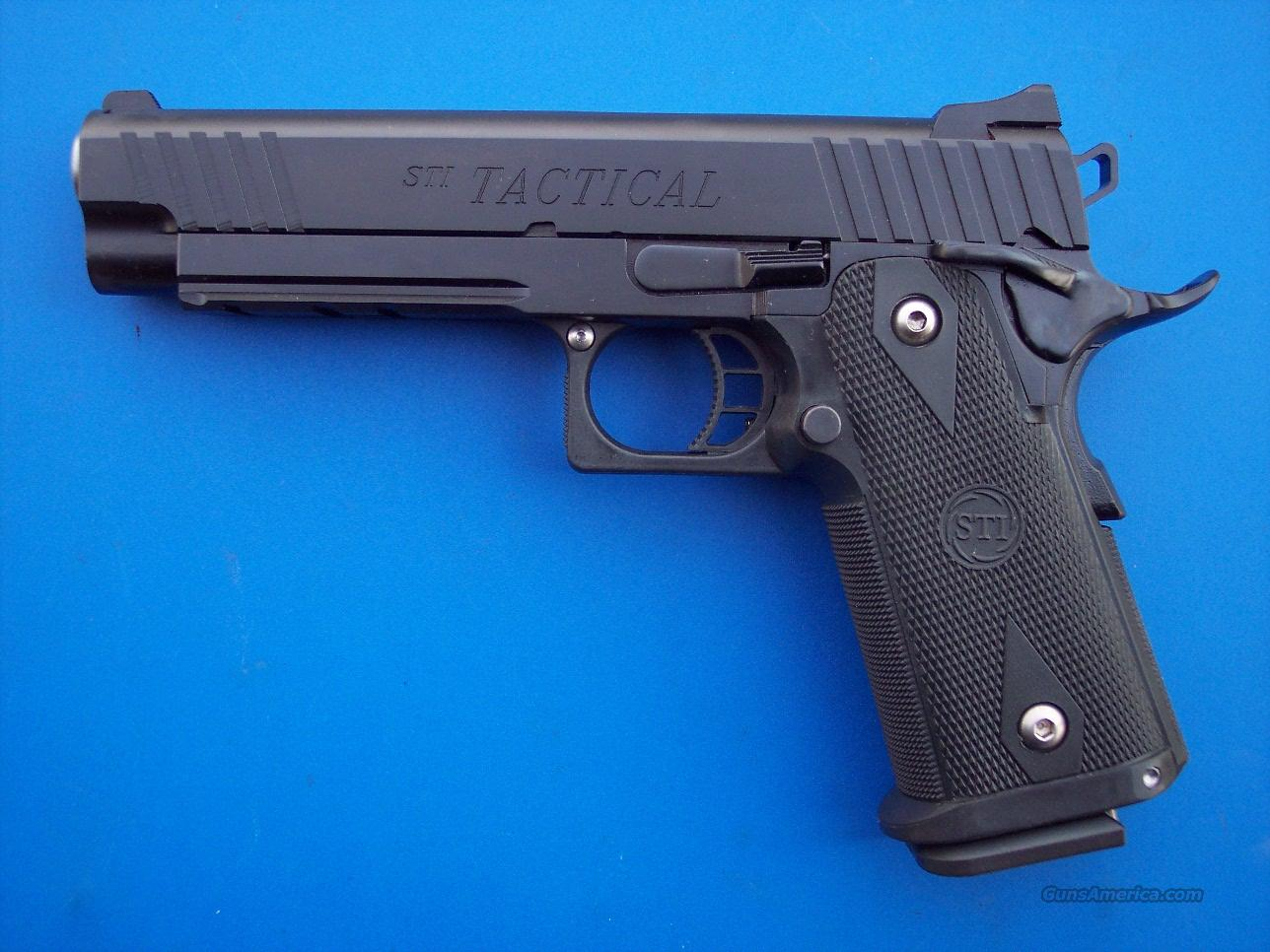 STI Tactical 5.0 40 S&W 2011 *NEW*   Guns > Pistols > STI Pistols