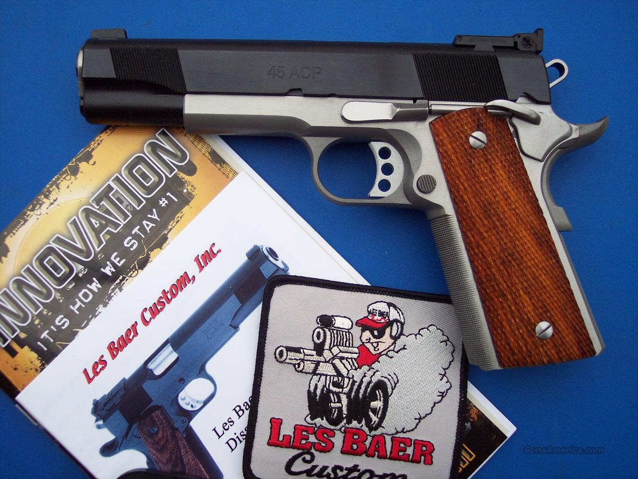 LES BAER Concept III Tactical Pkg 1911 *NEW*  Guns > Pistols > Custom Pistols > 1911 Family