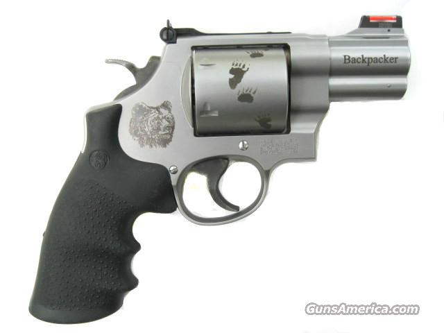 "Smith & Wesson 629 Backpacker .44 Mag Ported 2.5"" Stainless Special Edition Back Packer 150165 *NEW*  Guns > Pistols > Smith & Wesson Revolvers > Model 629"